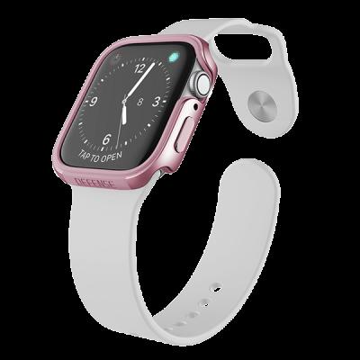 Чехол X-Doria Defense Edge для Apple Watch 44 мм Розовое золото
