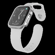 Чехол X-Doria Defense Edge для Apple Watch 44 мм Серый/Серебро