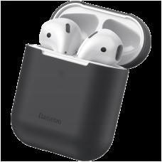 Чехол Baseus Case для Apple Airpods Чёрный