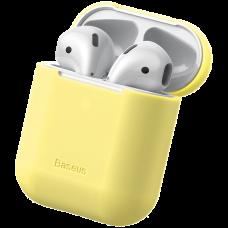Чехол Baseus Case для Apple Airpods Желтый