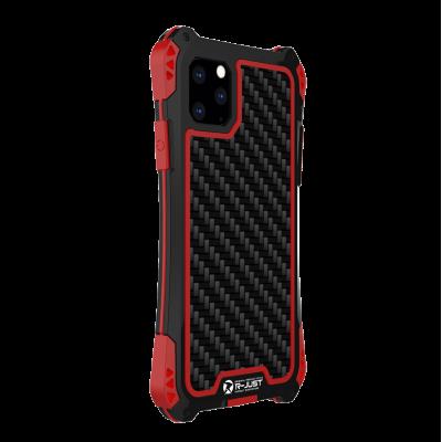 Чехол R-Just Amira для iPhone 11 Pro Max Чёрный-красный