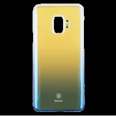 Чехол Baseus Glaze для Galaxy S9 Синий