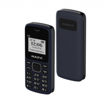 Телефон Maxvi C23 Blue-Black