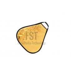 Треугольный отражатель FST TR-051 60см Gold/Silver