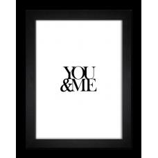 Постер Styler OB02490 FR251 Ты и Я 30x40 см