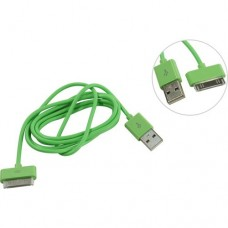 Кабель USB Smartbuy 30-pin Apple iK-412c Green