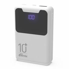 Внешний аккумулятор Ritmix RPB-10005 White