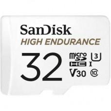 Карта памяти MicroSD 32GB Sandisk Class 10 V30 High Endurance (SDSQQNR-032G-GN6IA)