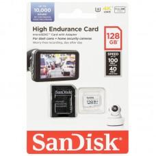 Карта памяти MicroSD 128GB Sandisk High Endurance (SDSQQNR-128G-GN6IA)
