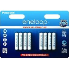 Аккумулятор Panasonic Eneloop BK-4MCCE/8LE 750 mAh 8шт AAA