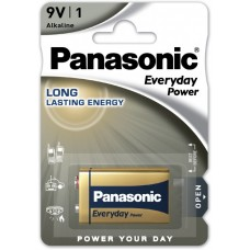 Батарейка Panasonic Everyday Power 6LF22 BLI 1 Alkaline (6LF22REE/1BR)