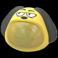 Портативная колонка Ritmix ST-111BT Puppy желтая