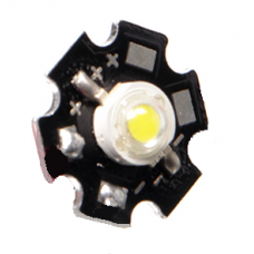 Лампа LED 5В 3Вт для микроскопа Микромед 1 LED звездочка