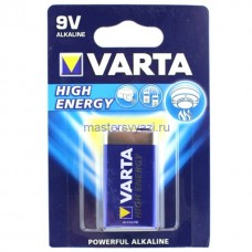 Элемент питания VARTA 6LR61 Energy 9V