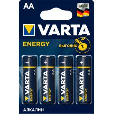Элемент питания VARTA LR6/AA Energy BL4 (4106213414)