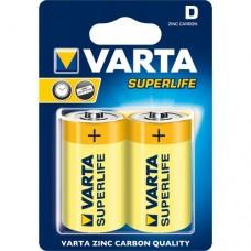 Элемент питания VARTA R20/D Superlife (2020101412)