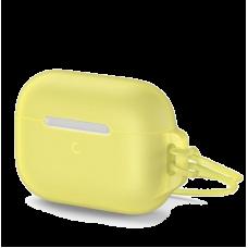 Чехол Baseus Let''s go Jelly Lanyard для iPods pro Желтый