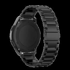 Браслет стальной для Samsung Gear S3/Samsung Galaxy Watch 46 Черный