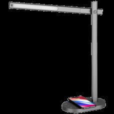 Светильник с беспроводной зарядкой Momax Q.LED Серый