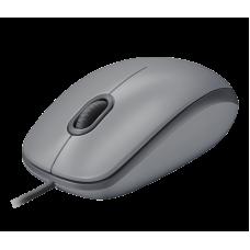 Проводная мышь Logitech M110 Silent серая (910-005490)