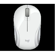 Мышка беспроводная Logitech M187 Mini Mouse белая (910-002735)