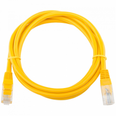 Патч-корд Telecom UTP 5E 1m литой желтый (NA102-Y-1M_307292)