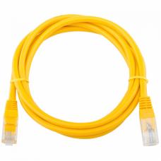 Патч-корд Telecom UTP 5E 1.5m литой желтый (NA102-Y-1.5M_317482)