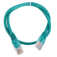 Патч-корд AOpen UTP 5E 0.5m литой зеленый (ANP511_0.5M_G_885128)