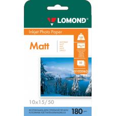 Бумага Lomond матовая односторонняя A6 180 г/м2 50л (0102063)