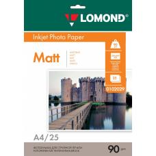Бумага Lomond матовая односторонняя A4 90 г/м2 25л (0102029)