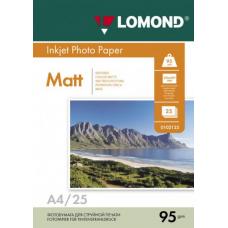 Бумага Lomond матовая односторонняя A4 95 г/м2 25л (0102130)