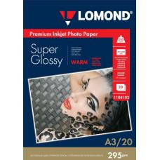 Фотобумага Lomond Super Glossy односторонняя A3 295 г/м2 20л (1108102)