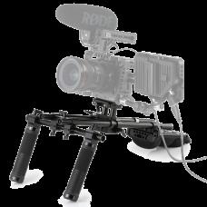Плечевой упор с двуручным хватом SmallRig Advanced Universal Shoulder Pad Kit KGW101