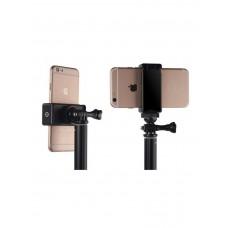 Крепление (держатель) для телефона 57-73 мм на штатив с резьбой 1/4 дюйма