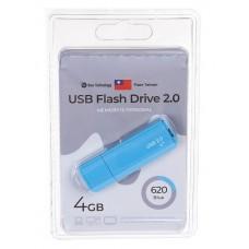 Флеш-накопитель USB 4GB Exployd 620 синий (EX-4GB-620-Blue)