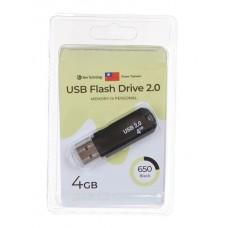 Флеш-накопитель USB 4GB Exployd 650 черный (EX-4GB-650-Black)