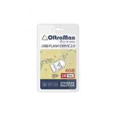 Флеш-накопитель OltraMax 330 белый (OM-4GB-330-White)