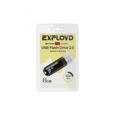 Флеш-накопитель Exployd 650 черный (EX-8GB-650-Black)
