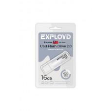 Флеш-накопитель Exployd 620 белый (EX-16GB-620-White)