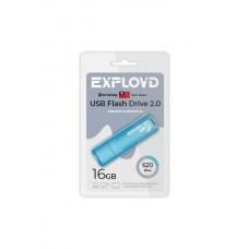 Флеш-накопитель Exployd 620 синий (EX-16GB-620-Blue)