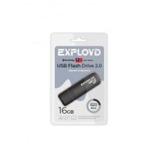 Флеш-накопитель Exployd 620 черный (EX-16GB-620-Black)