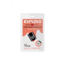 Флеш-накопитель Exployd 640 черный (EX-16GB-640-Black)