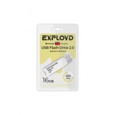 Флеш-накопитель Exployd 650 белый (EX-16GB-650-White)