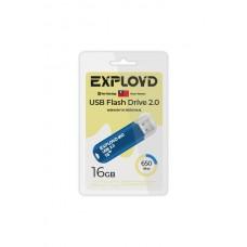 Флеш-накопитель Exployd 650 синий (EX-16GB-650-Blue)