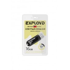 Флеш-накопитель Exployd 650 черный (EX-16GB-650-Black)