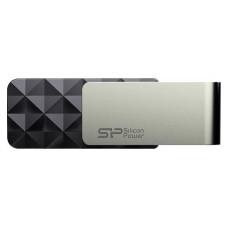 USB-накопитель 16GB Silicon Power Blaze B30, черный (SP016GBUF3B30V1K)
