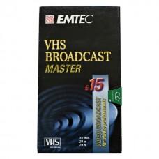 Видеокассета EMTEC Broadcast Master E15