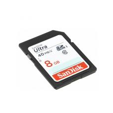Карта памяти 8GB SanDisk Ultra SDHC Class 10 (SDSDUN-008G-G46)