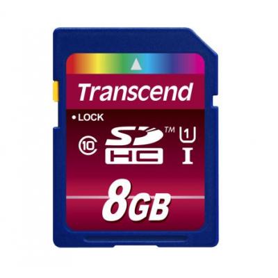 Карта памяти 8GB Transcend SDHC Class 10 600x UHS-I (TS8GSDHC10U1)