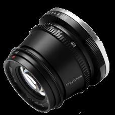 Объектив TTArtisan 35mm F1.4 EF-M Чёрный
